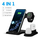 4in1/3in1 Charging Dock Charger Stand For Apple Watch Series 5 4 /AirPod iPhone