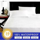 Bamboo Waterproof Mattress Protector Premium Hypoallergenic Fitted Bed Cover New image
