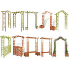 Garden Pergola Trellis Arch Outdoor Entryway for Roses Flowers Climbing Plants