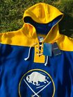 Authentic Buffalo Sabres Fanatics Throwback Lace-Up Pullover Hoodie Sweatshirt $44.0 USD on eBay