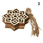 Cut Wooden Pendant Wood DIY Crafts Ramadan Decoration Eid Mubarak Wood Ornament