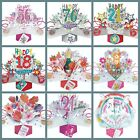 Happy Birthday Day Card and All Occasion Cards Pop Up Cards