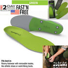 2020 New Superfeet Green Insolo Professional Arch Orthotic insert Support insole