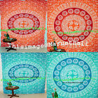 Indian Vintage Mandala Tapestry Hippie Bohemian Bedspread Hanging Wall Decor Art