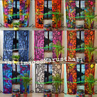 Wholesale Mandala Window Curtains Cotton Drape Balcony Room Decor Curtain Set