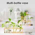Wooden Stand Hanging Glass Pot Flower Plant Pot Hydroponic Container Home Decor