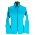 Royal Highness Equestrian Youth Western Show Shirt - Turquoise