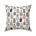 Geometric Food Summer Fruit Throw Pillow Cover w Optional Insert by Roostery