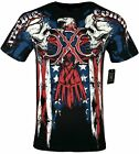 XTREME COUTURE by AFFLICTION Men's T-Shirt COUTURE PATRIOT Tattoo Biker MMA S-4X