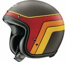 New Arai Classic-V Groovy Brown Frost Open Face Motorcycle Helmet XS-2X
