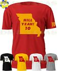 Kansas City Chiefs Tyreek Hill Yeah! 10 State Jersey Tee Shirt Men S-5XL Shadow $14.99 USD on eBay