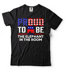 Proud To Be The Elephant Republican T-shirt Funny Donald Trump 2020 President   image