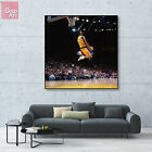 Canvas print wall art photo big poster nba Kobe Bryant mvp lakers Black Mamba zz