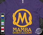 MAMBA SPORTS ACADEMY T-Shirt Black Mamba Kobe Bryant MVP on American Apparel Tee image
