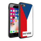 Personalised NAME Czech Republic Flag Hard Case for Various Phone Models 0046