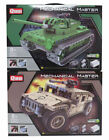 Remote Control Mechanical Master Vehicles -Assemble Tank Jeep Army Fun Play kids