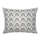 Creepy Spider Halloween Poison Insect Scary Pillow Sham by Roostery image