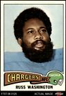 1975 Topps #335 Russ Washington Chargers Mizzou 7 - NM $2.0 USD on eBay