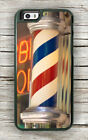 BARBER POLE EMBLEMATIC SIGNS CASE FOR iPHONE 7 OR 7 PLUS -gjr4X
