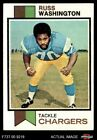 1973 Topps #199 Russ Washington Chargers Mizzou 5 - EX $0.99 USD on eBay