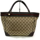 Gucci Tote Bag Light Brown Canvas 1122667
