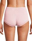 Bali Womens Microfiber Brief Panties One Smooth U Uplift Modern Ruched Rear Lift