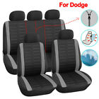 Polyester Car Seat Cover Set Car Accessories Fit for Dodge Charger Journey Dart $106.78 CAD on eBay