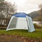 Trespass Camping Gazebo Garden Party Canopy Marquee Tent L3M x W3M x H2.3M