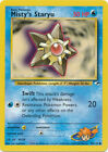 Misty's Staryu Common Pokemon Card Gym Heroes 90/132