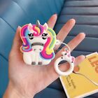 For Apple Airpods 2 Shockproof Airpods Case 3D Animals Kids Skin Charging Cover