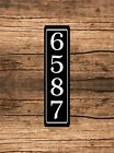 StoreInventorypersonalized home address sign aluminum 3