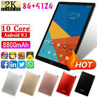 "10.1"" Android HD Tablet PC 6 128G/256G/512G 4G Wifi Octa-Core Dual SIM Phablet"