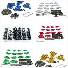 Fit For Suzuki GSXR 600 750 1000 1300 SV RGV TL Complete Fairing Bolt Screws Kit $18.98 USD on eBay