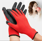 5/12 Pair Nylon PU Safety Work Gloves Builders Grip Palm Coating Gloves