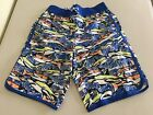 NWT Gymboree Boy Shark Trunk Shorts UPF 50+ Multi Blue 5/6,7/8,10/12,14
