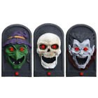 Halloween Party Home Decoration Illuminated Terror Skeleton Vampire Doorbell Hor