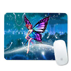 235*196*2mm Mousepad Gaming Computer PC Game Mouse Mat Pad Purple Flower