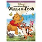 THE MANY ADVENTURES OF WINNIE THE POOH DVD Disney - Cracked Case