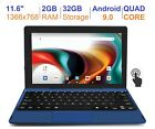 """RCA 11.6"""" 2in1 Tablet 2GB RAM 32GB Quad Core IPS 1366 x 768 Screen Android 9.0"""