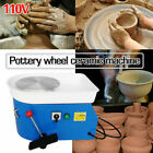 110V 25CM Electric Pottery Wheel Machine For Ceramic Work Clay Art Craft Molding image