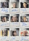 Star Trek Voyager Heroes & Villains H & V Auto Autograph Card Selection on eBay