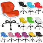 Swivel Computer Desk Office Study Chair Pu Leather Adjustable Chair Fashion Seat