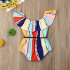 Toddler Baby Girl Newborn Clothes Romper Bodysuit Jumpsuit Summer Outfits Set US