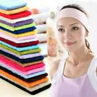 Men Women Wide Sports Yoga Headband Stretch Hairband Elastic Hair Band Casual