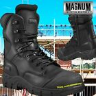 Magnum SIA Tactical Safety Toe Police Combat Leather Side Zip Boot Rigmaster