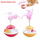 Playing Artificial Feather Tumbler Ball Cat Kitten Interactive Toy Pet Supplies