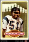 1980 Topps #68 Woodrow Lowe Chargers Alabama 6.5 - EX/MT+ $2.65 USD on eBay