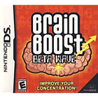 Brain Boost Beta Wave Nintendo DS Game