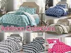 Addison Collection 10-Piece Comforter Set Reversible Bedding  Bed Sheets SALE