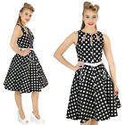 VOODOO VIXEN BLACK WHITE DAISY  ROCKABILLY VINTAGE DRESS  GOTHIC ALTERNATIVE